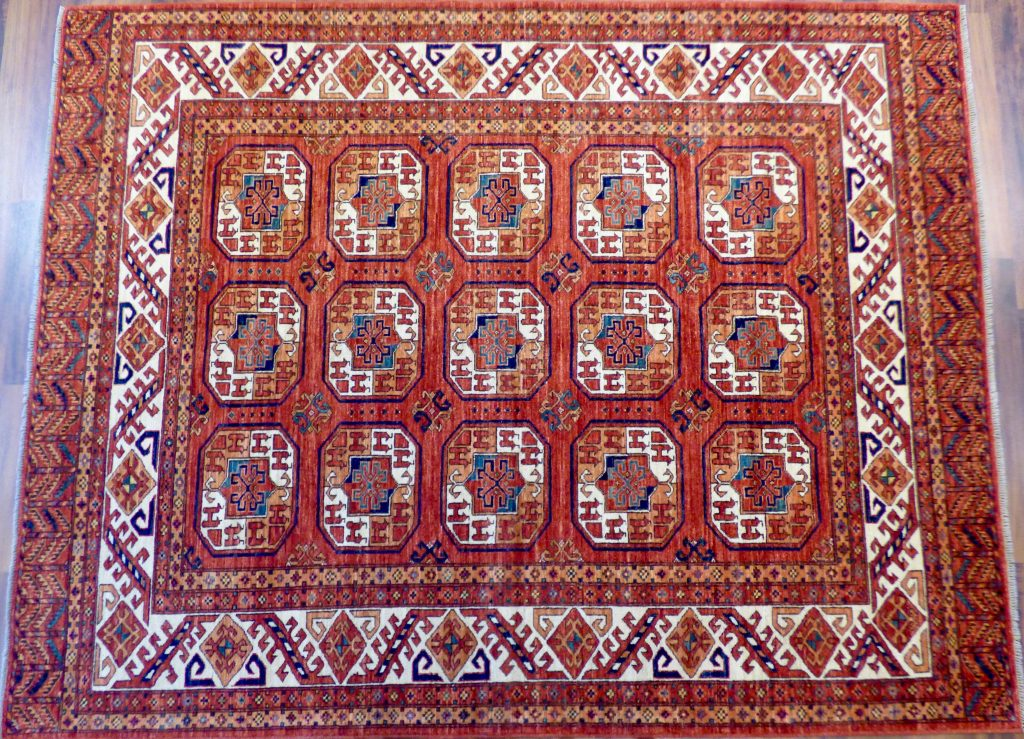 Example of Turkmen Rugs Ersari Style