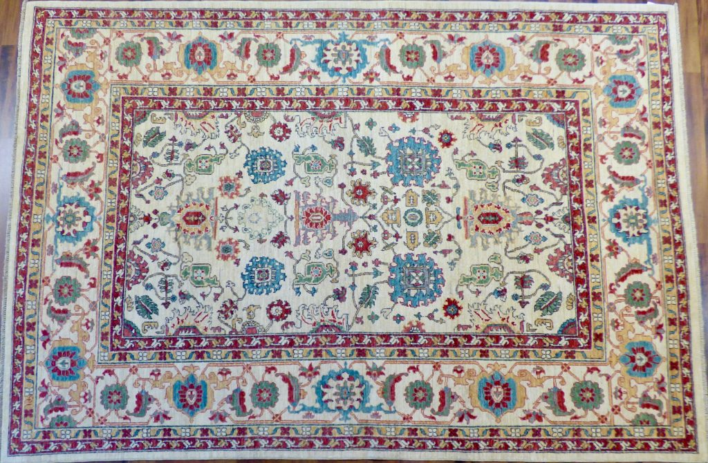 An Example of Our Turkmen Rugs Shams Style